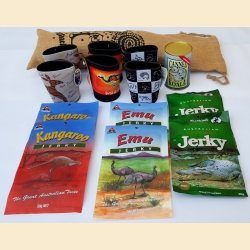 Gift Basket - Exotic Jerky