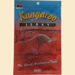 5. Kangaroo jerky 50g