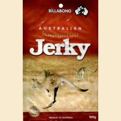 6. Kangaroo jerky 100g